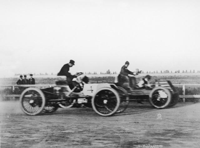Built first car