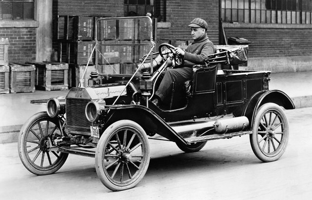Introduced the model T
