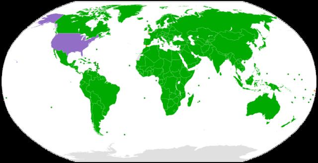 Подписание конвенции о правах  ребёнка