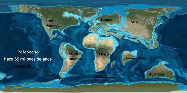 Continentes de aspecto actual