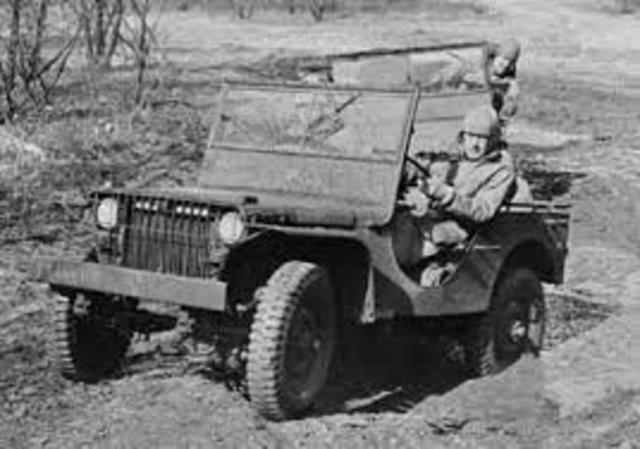 Production of vehicles during WWII