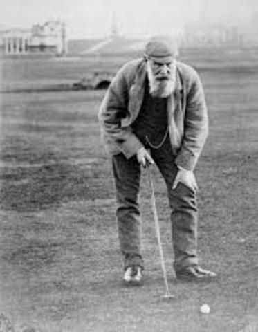 Tom Morris professional golfer