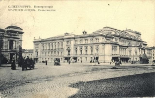 Окончил обучение в Петербугской консерватории