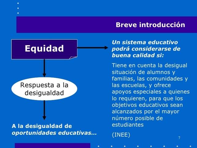 Tecnología y Equidad Educativa