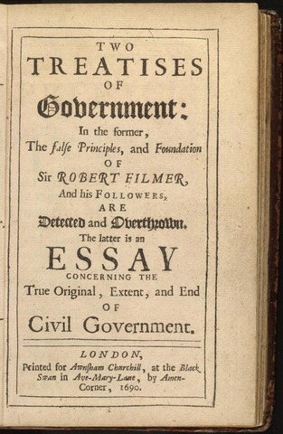 """The """"Two Treatises of Government"""""""