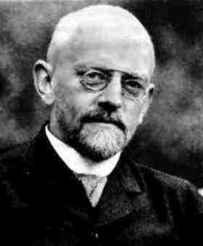 Hilbert (1862-1943)
