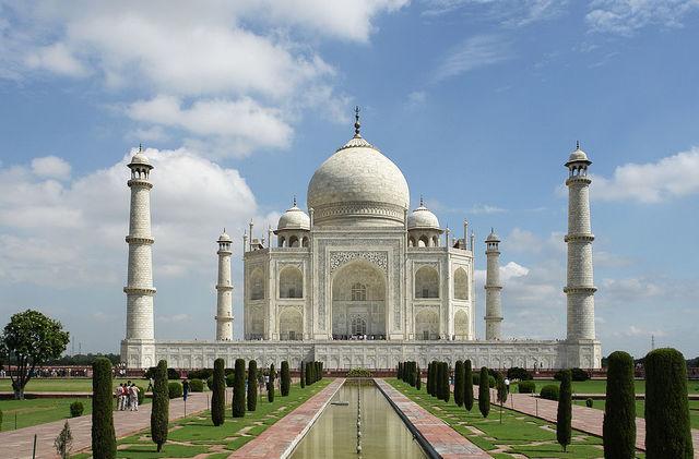 Taj Mahal construction completed