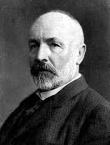 Cantor (1845-1918)