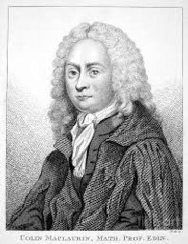 Maclaurin (1698-1746)