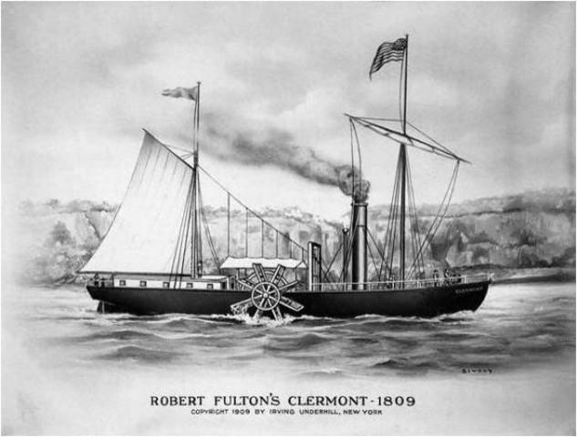 A história dos navios