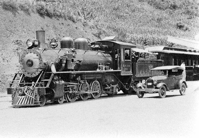criação do trem para transporte de munições