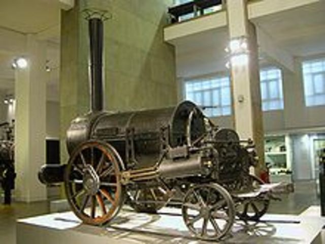 criação do trem à cilindros
