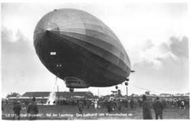 Os balões dirigiveis no Brasil