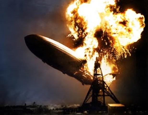 O fim dos zeppelins