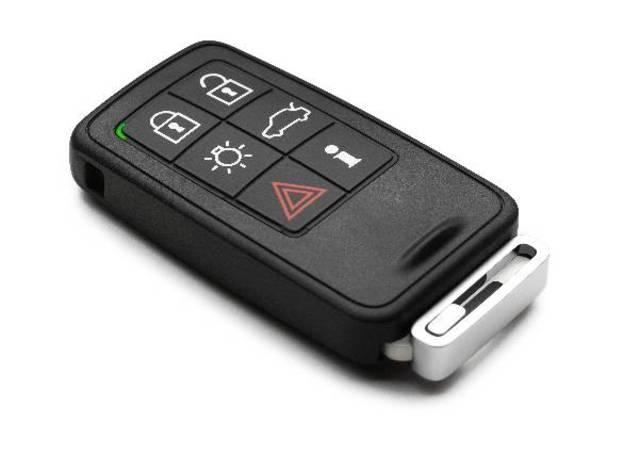 Como funciona a chave do carro