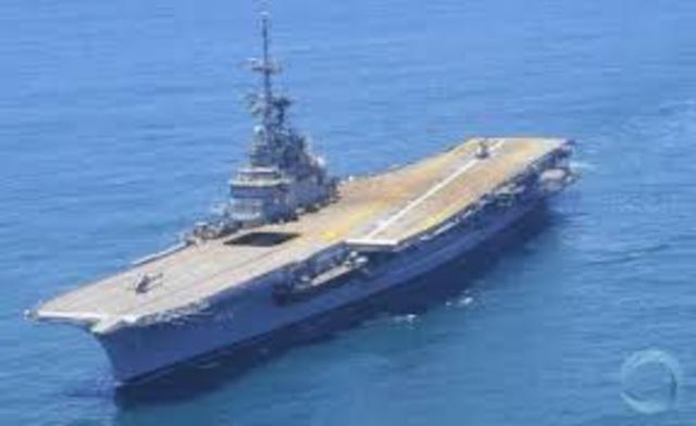 A modernização do navio