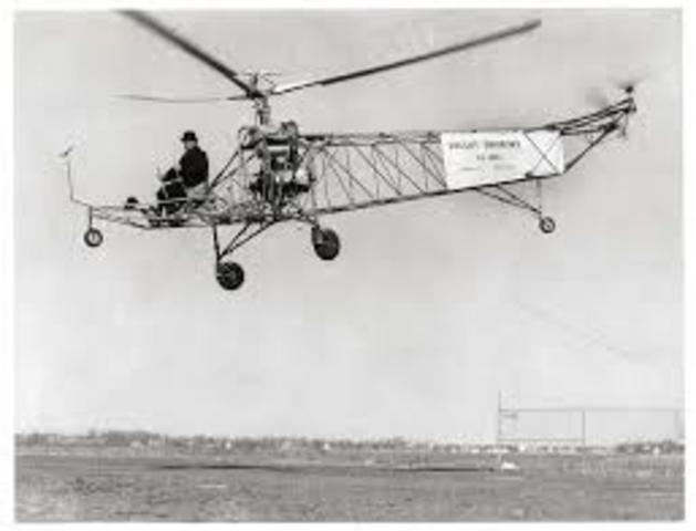 1st helicopter