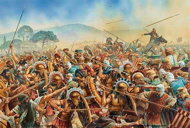 The Greek/Persian Wars