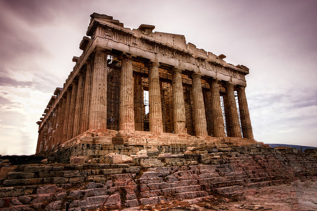 The Parthenon Is Completed