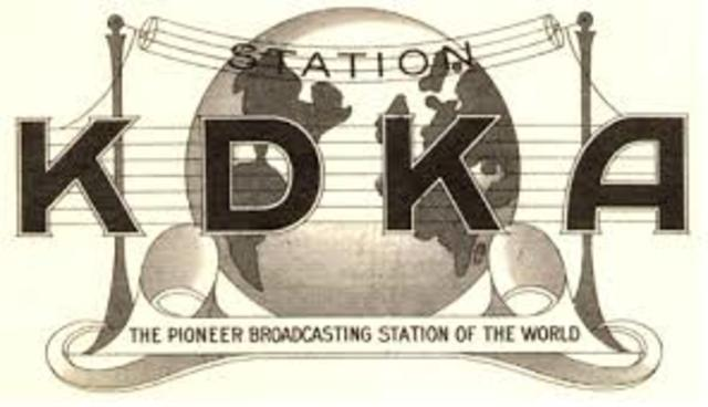 First Commercial Broadcast