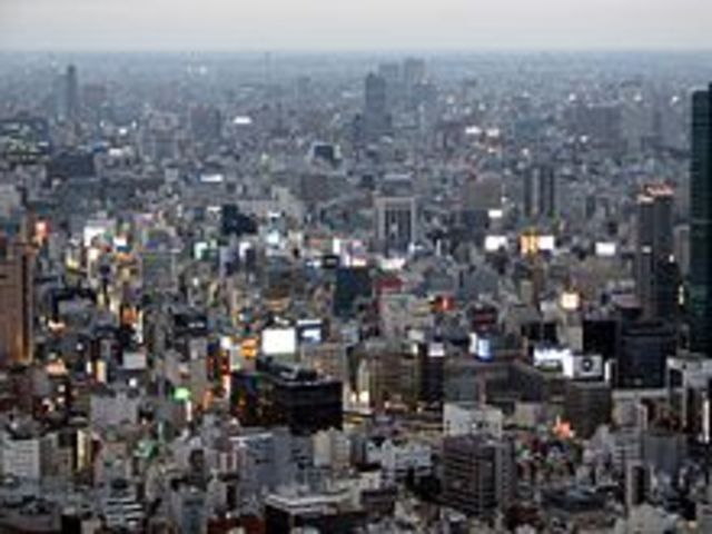 Expanse of the Urban Population