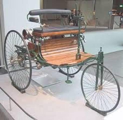 O carro a vapor
