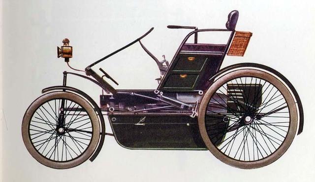 Primeiro carro da Inglaterra