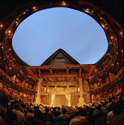 Shakespear's Globe is raised