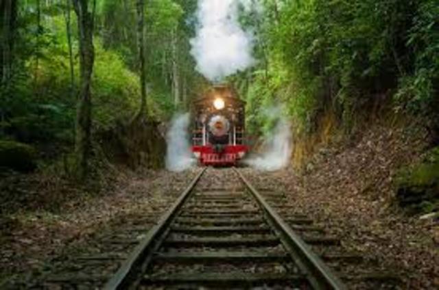 Estrada ferroviária