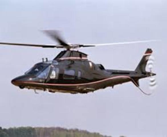 O aprimoramento do helicóptero