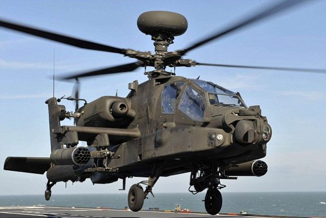 O helicóptero de combate