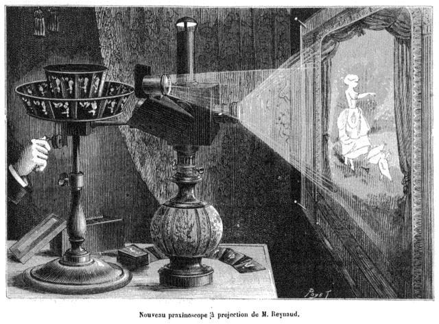 Vorläuferverfahren der Kinematographie