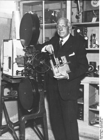 Das erste Filmstudio in Deutschland