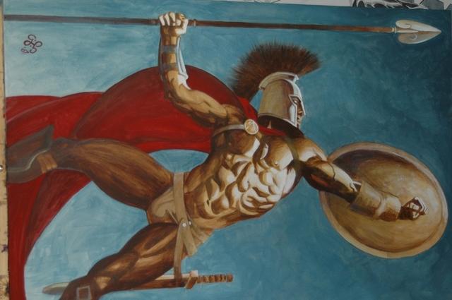 Leonidas I (Legendary King of Sparta) Was Born