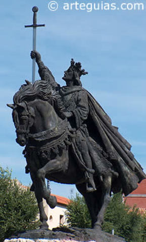 Toma de Toledo por Alfonso VI