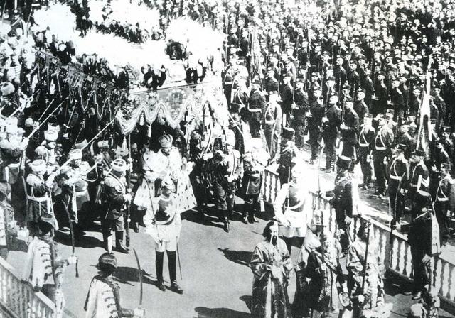 Die Krönung von Nikolaus II