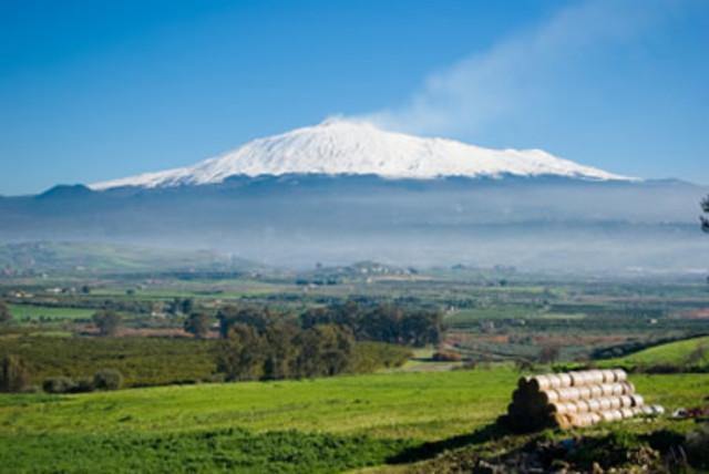 Mt Etna in Sicily erupts