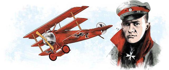 Transporte aéreo- Barão Vermelho