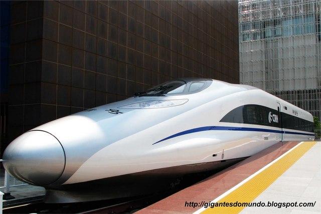 O Trem mais rápido do mundo