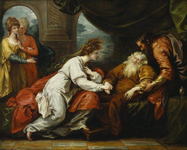 Shakespeare writes King Lear and Macbeth