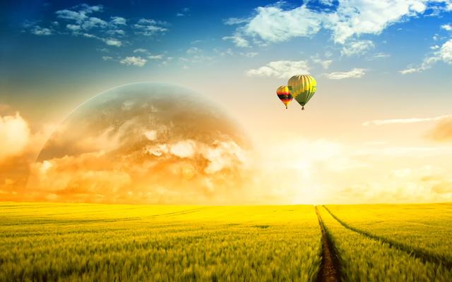 Aéreo: Balão