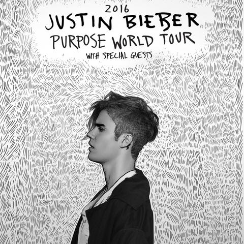 Concert de Justin Bieber