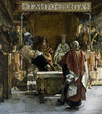 Persecuciones generalizadas contra los judíos en Castilla y Aragón