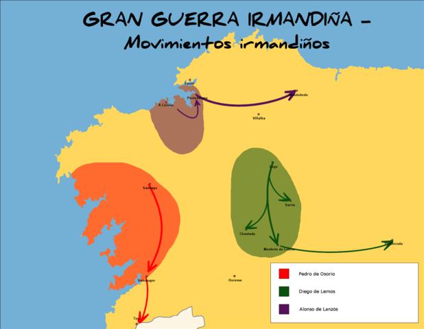 Revuelta irmandiña en Galicia