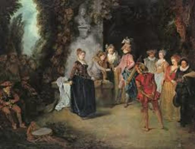 The Rococo Period  in art and music