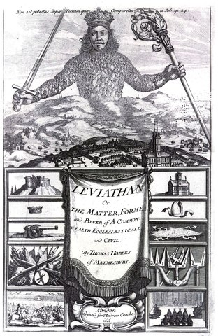Thomas Hobbes Publishes The Leviathan