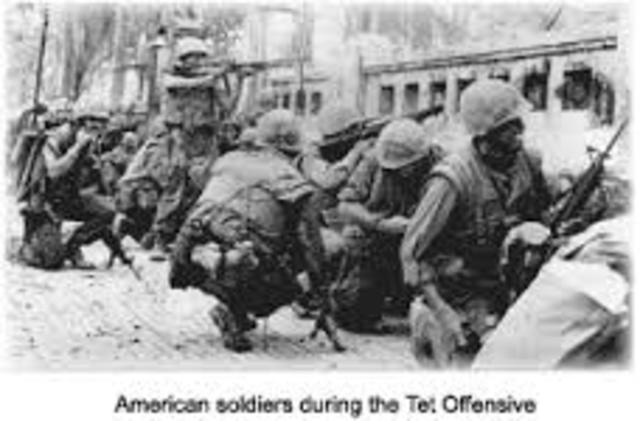 Tet Offensive-Vietnam