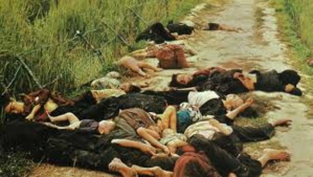 Mai Lai Massacre-Vietnam