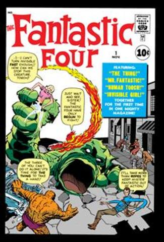Stan creates The Fantastic Four
