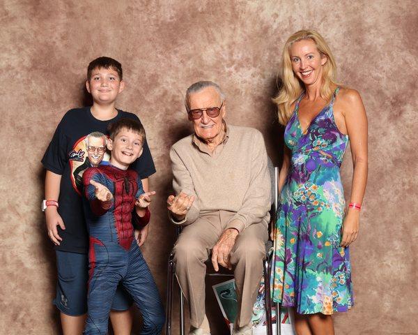 I meet Stan!